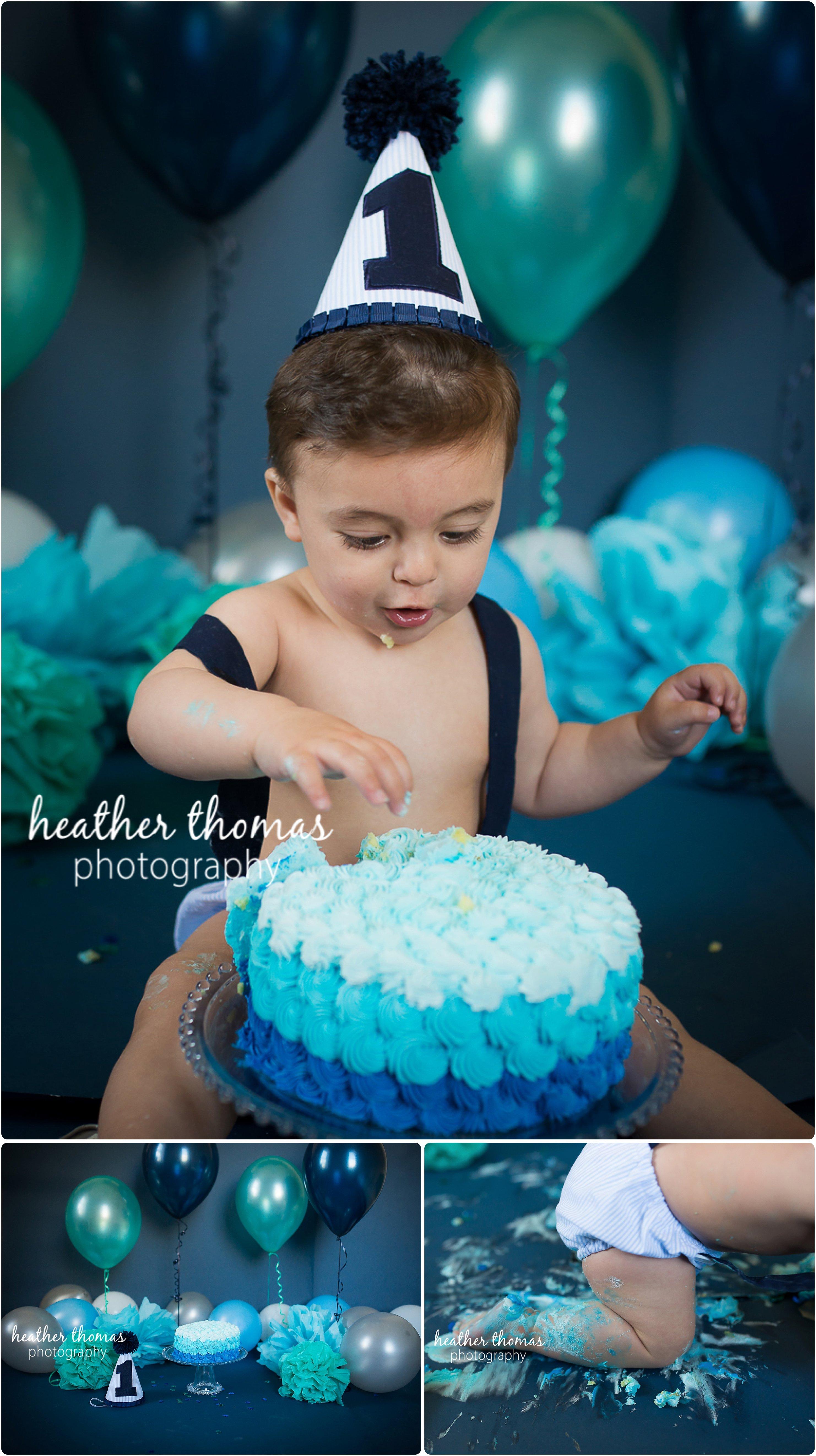 First Birthday Cake Smash in Philadelphia