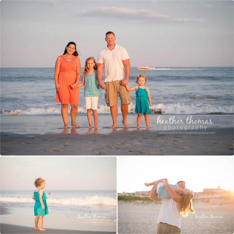 family portrait in ocean city nj