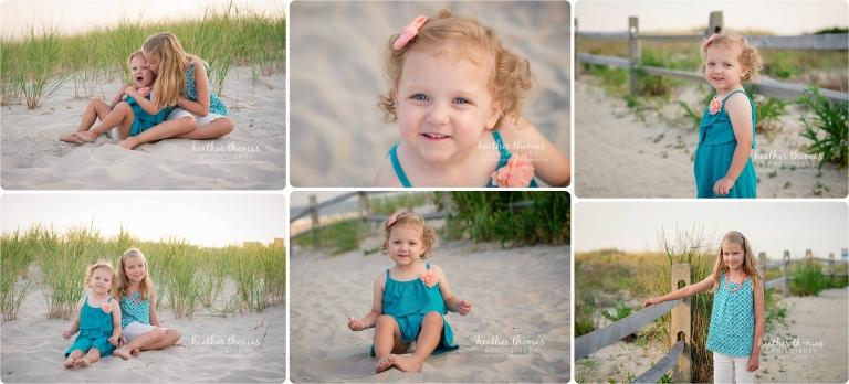 ocean city nj beach pictures of sisters