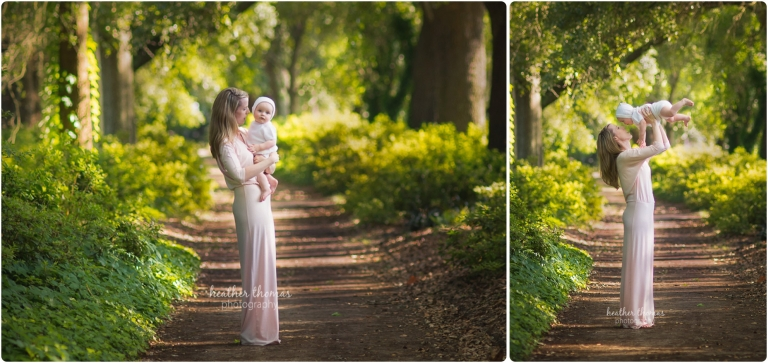 mother holding infant son photo by heather thomas photography
