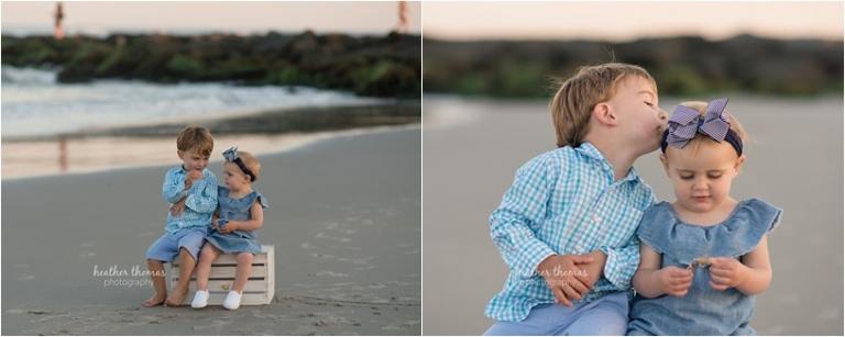 toddler portraits at margate beach, nj