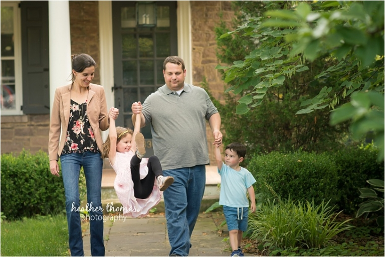 family pregnancy pictures in bucks county pa
