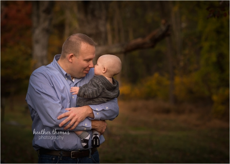 young family outside in bucks county pa for family portrait mini session