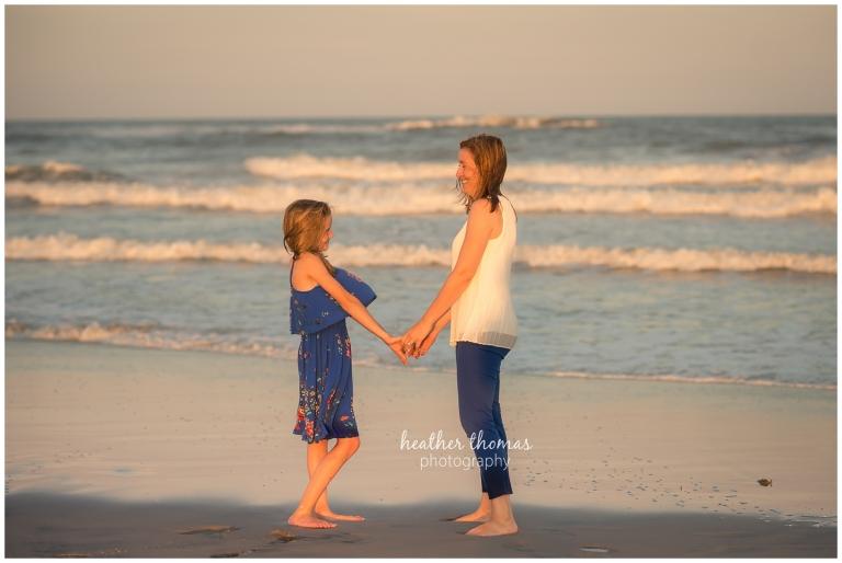 Ocean City, NJ Beach Photography Session | The K Family
