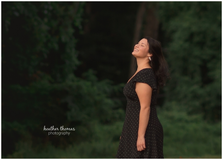 a senior portrait photo shoot with heather thomas photography in philadelphia