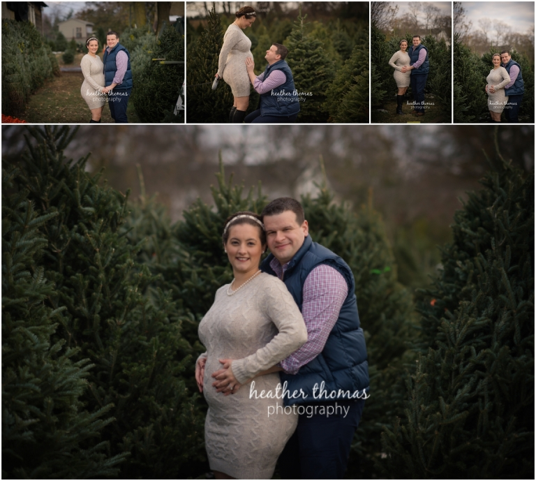 mother and father getting pregnancy photos done in bucks couny