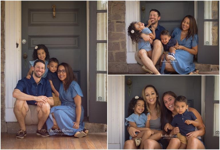 a family photo shoot in philadelphia