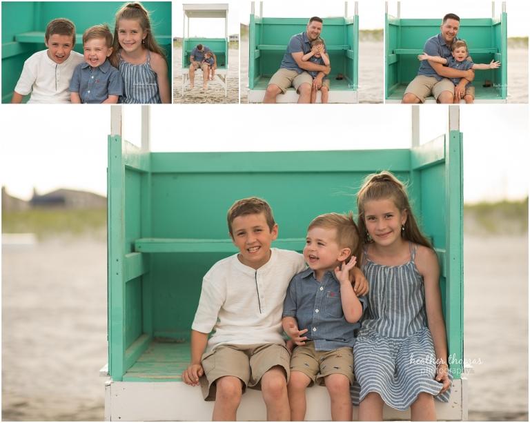 kids portraits in ocean city