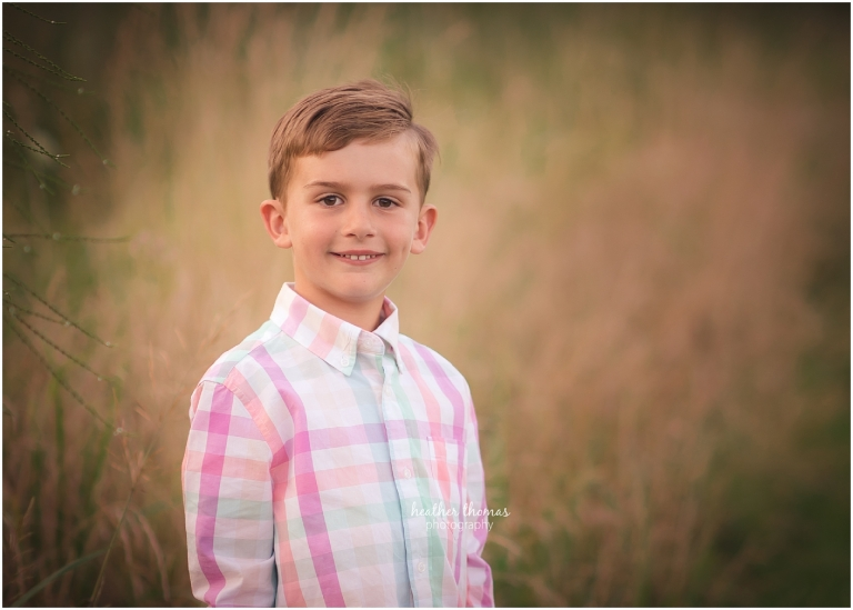 a closeup picture of a boy at a photo shoot in bucks county