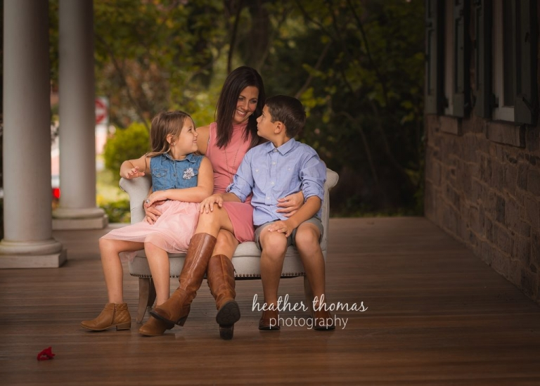 family portrait by heather thomas