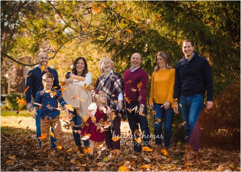 extended family photo shoot in philadelphia