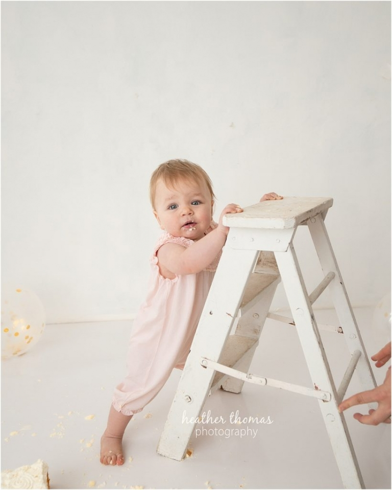 baby girl portrait session